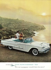 1959 Ford Thunderbird Convertible (aldenjewell) Tags: 1959 ford thunderbird convertible ad