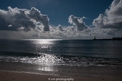 Playa Las Cucharas Lanzarote (corinna1411) Tags: kanarischeinseln canaryislands lanzarote insel island spain spanien strand beach costa teguise atlanticocean atlantik atlantischerozean atlantic sand wasser water wolken clouds sky himmel blue blau nikon nikond300 d300 waves wellen