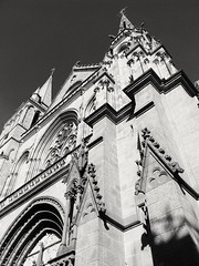 Vannes (Marie-Laure Larère) Tags: vannes bretagne noiretblanc blackandwhite monochrome cathédrale
