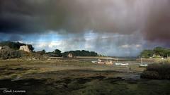 Ciel d'orage à Bugueles (claude 22) Tags: orage ciel nuages sky mer sea bretagne brittany france bateaux boats cotesdarmor armor penvenan gr34