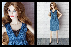 Tag game Doll of the year (2018) (Levitation_inc.) Tags: tag game doll dolls fashion royalty integrity toys levitation levitationfashion rayna makeover judy eye candy blue dress