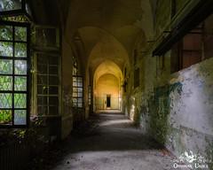 Manicomio di R, Italy (ObsidianUrbex) Tags: abandoned asylum digital photography hospital madhouse manicomio ospedale urban exploration urbex