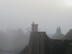 Foggy morning (Granpic) Tags: suffolk ipswich fog weather roofs wintermorning february