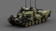 challenger 2 kfor (C.Ngoc) Tags: challenger 2 tank strong british modern mbt toy lego ldd render