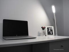 52 Frames. Week 6 (lucyrogersphotography) Tags: desk mydesk workspace lucyrogersphotos 52framesthemelaptop hplaptop hppavillion