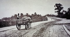 Ealing (London) Circa 1852. (ManOfYorkshire) Tags: 1852 ealing london town centre remote simple horse cart farmer undeveloped
