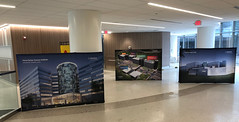 Stretch fabric displays for INOVA Cancer Institute Event