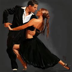 Dark Tango (Pat McDonald) Tags: argentina bailaora bailaoras bailar bale ballerina ballet ballo beauty digitalart danse dans dance castanet bsas buenosaires gitana gitano guapa guapísima mediterranean mexico pixabay retrato rebelle porteña porteño tango juancamerlingo