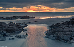 Windy sunrise (Donard850) Tags: ardspeninsula ballywalter countydown irishsea northernireland beach sea sunrise sunrisepool windy
