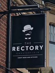 Chesterfield, Derbyshire (cherington) Tags: therectory chesterfield derbyshire england unitedkingdom pictorialsigns pubsigns traditionalpubsigns englishpubsigns socialhistory innsigns