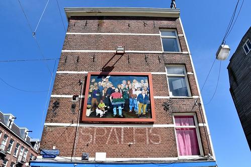 Mural - Ten Katestraat Amsterdam