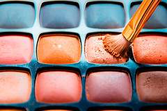 M is for Makeup - The first letter of my surname (Erika Mourão Fotografia) Tags: makeup surname macromondays color cor maquiagem colorido squares quadrado canon canon6d tamron tamron2875 canoneos macro orange cores thefirstletterofmysurname laranja