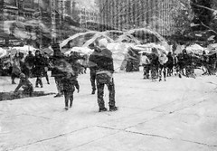 Mirage. (Nance Fleming) Tags: winter2019 streetscene onthestreet toronto