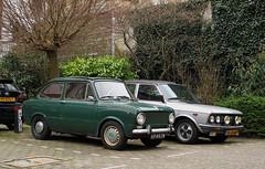 1973 Fiat 850 D & 1979 Fiat 132 (rvandermaar) Tags: 1973 fiat 850 d fiat850 sidecode3 69ag74