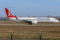 TC-JYM | Turkish Airlines | Boeing 737-9F2(ER) | BUD/LHBP (Tushka154) Tags: hungary spotter 737nextgeneration ferihegy budapest boeing 737 737900 turkishairlines tcjym 7379f2er 737ng aircraft airplane avgeek aviation aviationphotography boeing737 boeing737nextgeneration boeing737ng budapestairport lhbp lisztferencinternationalairport planespotter planespotting spotting turkish