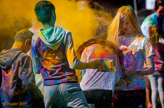 Holi, Hindu Festival of Colors (Greatest Paka Photography) Tags: color children festival celebration fostercity powder gulal holi spring seasonal sanmateocounty