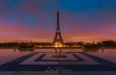 Eiffel (Iván F.) Tags: paris torreeiffel tower france europe city cityscape architecture love travel street sonya7riii sony 1635gm inexplore explorer exploration urban discover night