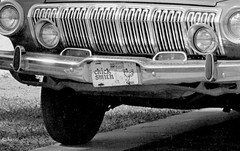 Chick Smith, original, 1973 (clarkfred33) Tags: plate advertisement dodge 1963dodge chicksmith dealership carsales ford 1973 humor clearwater autodealer original forddealer loud obnoxious tvcommercial