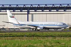 A6-MRM  B737-8EC(WL)BBJ  Dubai Air Wing (n707pm) Tags: a6mrm b737 boeing 737800 737wl bbj airport airplane aircraft vip einn ireland coclare snn dubaiairwing shannonairport rineanna cn32450 20012019 dubai5 uae