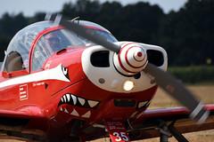 ST-35 SIAI-Marchetti SF.260MB Belgian Air Force @ Schaffen Diest 11-Aug-2018 by Johan Hetebrij (Balloony Dutchman) Tags: airforce siai marchetti sf260mb belgian air force schaffen diest 2018 sf260 oldtimer flyin aircraft demoteam team st35
