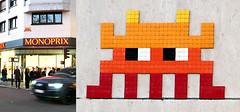 Space invader [Paris banlieue 92] (biphop) Tags: europe france paris banlieue 92 streetart space invader spaceinvader mur wall installation mosaic mosaique
