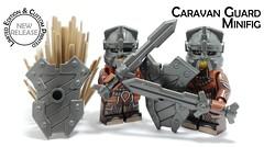 NEW Release! New Limited Edition Caravan Guard Minifig! (BrickWarriors - Ryan) Tags: lego legogun customlegominifigure customlegoarmor customlegohelmet customlegoshield weapon accessories minifig minifigure custom gun brick