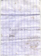 Pipi Fesses (hyakoukoune) Tags: pipi fesses fesse pourquoi enfant page cahier carreaux rayures ratures france fontenay sous bois 94120 94 val de marne février 2019 les filles