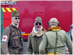 Tora,... (Aerofossile2012) Tags: 2017 meeting airshow laferté avion aircraft aviation toratoratora people reenactors uniform uniforme