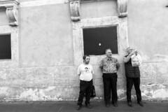(The Army of Mr.Bean) (Robbie McIntosh) Tags: leicam9p leica m9p rangefinder streetphotography 35mm leicam autaut candid strangers leicaelmarit28mmf28iii elmarit28mmf28iii elmarit 28mm man blackandwhite monochrome bw rome roma