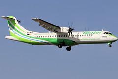 EC-MYT_01 (GH@BHD) Tags: ecmyt atr atr72 atr72600 nt ibb rsc bintercanarias binter aircraft aviation airliner arrecifeairport arrecife lanzarote turboprop