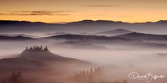 Belvedere (Shadow13777) Tags: tuscany toscana landscape paesaggi canon 5d mark iv sunrise alba cipressi unesco unescosite siena december dicembre 2018 fog nebbia leefilters lee filters