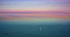 When two worlds collide... by vanagART 2017_ East Sussex_ England (vanagART) Tags: sky world sea seaside eastsussex england color yachts whentwoworldscollide photography photoprints printsforsale deepblue purplesky vision medium iloveseaside clouds image picture art photoart