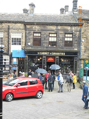 'Cabinet of Curiosities' (Landstrider1691) Tags: haworth bronte haworthyorkshire stone cobbles setts shop cabinetofcuriosities brontecountry filmset mainstreethaworth apothecarysshop apothecary curiosities