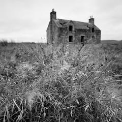 Abandonded (Mark Rowell) Tags: isleoflewis scotland hasselblad 903 swc fuji acros 120 6x6 mediumformat bw blackandwhite film