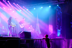 Young Boy Attending a Concert (MyStockPhotos) Tags: young child children concert music dream instruments musical fan fascinated