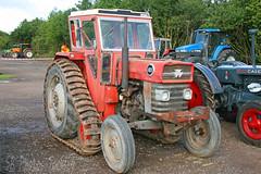Massey Ferguson 165 Half Track Tractor (SR Photos Torksey) Tags: tractor farm agriculture classic vehicle vintage auction sale cheffins cambridge agricultural massey feruson 165 half track