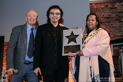 Black Sabbath & Bill Ward Walk Of Stars induction & Sabbath bench unveiling