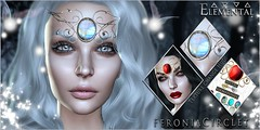 -Elemental- 'Feronia Circlet' Advert (elemental.business.sl) Tags: roleplay rp fantasy elven elf fae fairy goddess dark light pagan lordoftherings theenchantment elemental jewelry accessory