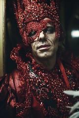 Rosso Veneziano (pisanim1) Tags: venezia carnevale carnival mask maschere portrait
