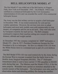 Bell Helicopter Model 47 Sign (Serendigity) Tags: arizona pimaairspacemuseum tucson usa unitedstates aircraft aviation hangar indoors museum unitedstatesofamerica