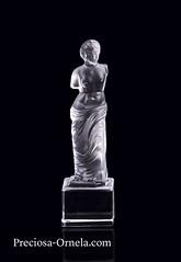 PRECIOSA_27877_figurine Venus (PRECIOSA ORNELA) Tags: preciosaornela desna since 1847 decorative traditionalczechglass glass figurine statuette hand made ashtray devotional