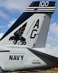 """Boeing F/A-18E Super Hornet of Strike Fighter Squadron 143 (VFA-143) """"Pukin Dogs"""" from NAS Oceana (Norman Graf) Tags: fa18 fa18e 168908 aircraft airplane usn cagbird 2017nasoceanaairshow airshow vfa143 navalaviation boeing pukindogs ag100 attack carrierairgroup f18 f18e fighter hornet jet nasoceana plane strikefightersquadron143 superhornet unitedstatesnavy"""