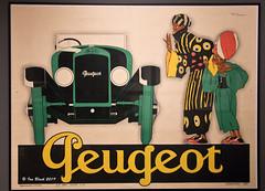 Peugeot (ianhb) Tags: germany hamburg museum artdeco advertising poster