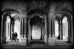 arches of the past (bostankorkulugu) Tags: istanbul turkey türkiye beşiktaş ciragan ciraganpalace ciragansarayi ciraganpalacekempinski arches ottoman osmanli ottomanstyle architecture ottomanarchitecture