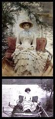"""Anders Zorn. Un paseo por el Támesis. 1883 (""""GALBA"""") Tags: retrato figura pintor artista fotografía pintura cuadro referente anderszorn zorn barca agua rio"""