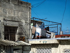 ... (Jean S..) Tags: house building clothes clothesline stone laundry sky windows outdoors