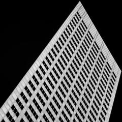 (jfre81) Tags: houston texas tx tex abstract minimalist architecture downtown onblack black white blackandwhite monochrome diagonal tilt square crop james fremont jfre81 2019 canon rebel xs eos negative space