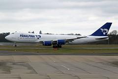 B747-8 (N850GT) Panalpina (Atlas Air Inc) (boeing-boy) Tags: mikeling boeingboy b7478 n850gt atlasair stansted panalpina