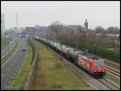 HSL 186 382 + Ethanol keteltrein    's-Hertogenbosch (Spoor Loc) Tags: spoor loc trein train hsl 186 382 shertogenbosch railways railway station cargo