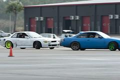 On Your Tail (Find The Apex) Tags: nolamotorsportspark nodrft drifting drift cars automotive automotivephotography nikon d800 nikond800 nissan 240sx nissan240sx s13 s14 tandemdrift tandem tandemdrifting tandembattle